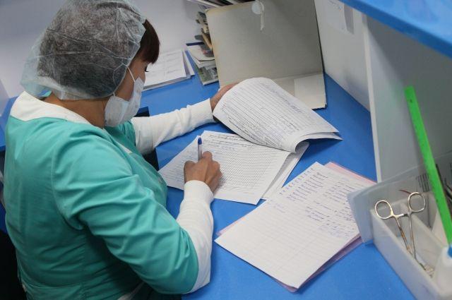 Все требует времени - помимо приема, врачу нужно еще заполнить не только личную медкарту пациента, но и другую отчетность.