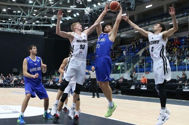 БК «Нижний Новгород» досрочно вышел в плей-офф Кубка Европы.