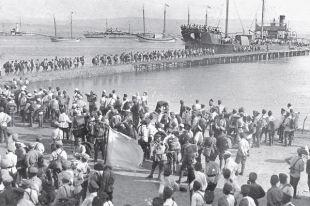 Эвакуация русской армии из Ялты, ноябрь 1920 г.