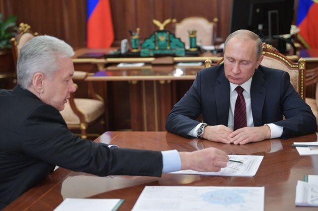Сергей Собянин представил Владимиру Путину проект новых градостроительных решений.