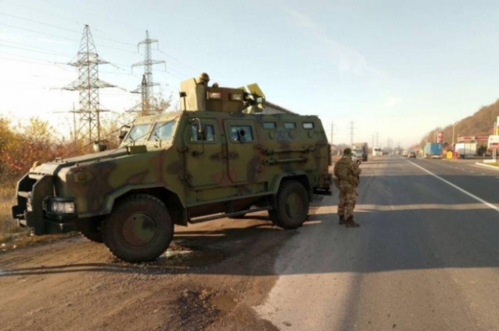 На момент 13:00, 26 ноября, прошло около 100 обысков на территории Закарпатья