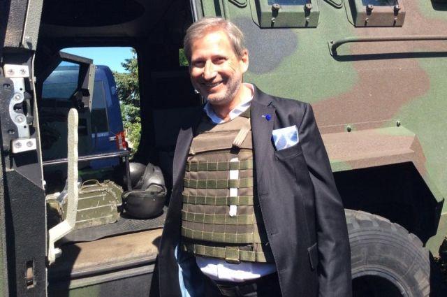 ПосольствоЕС: Йоханнес Хан посетит Украинское государство 15ноября