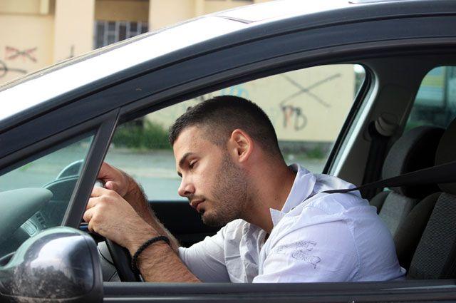 Может ли инспектор оштрафовать уставшего водителя?