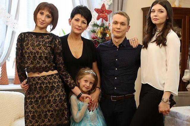 Воронежская семья приняла участие всъемках фильма «Елки новые»