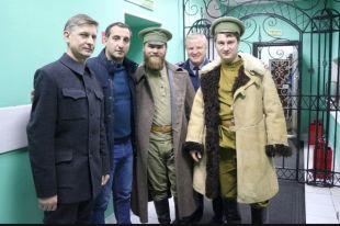 Программу о Колчаке снимали в Иркутске в октябре.