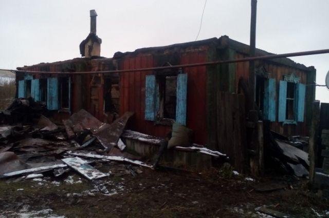 В Бугурусланском районе из-за неосторожности при курении погиб пенсионер.