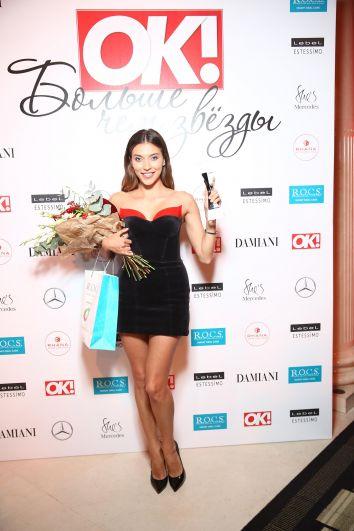 Обладательницей самой блистательной улыбки в номинации «Улыбка года R.O.C.S. (женщина)» стала Регина Тодоренко.