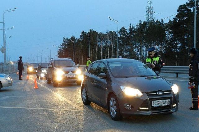 В Тюмени проходит сплошная проверка водителей на трезвость