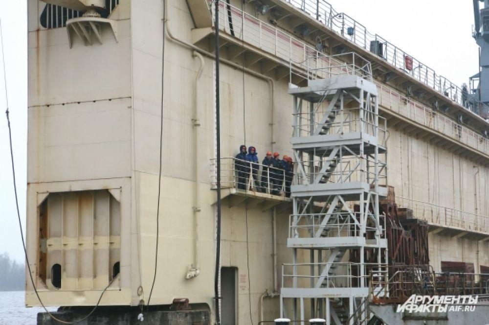 В РФ это первый за 20 лет контракт на строительство подобных судов для отечественного заказчика.