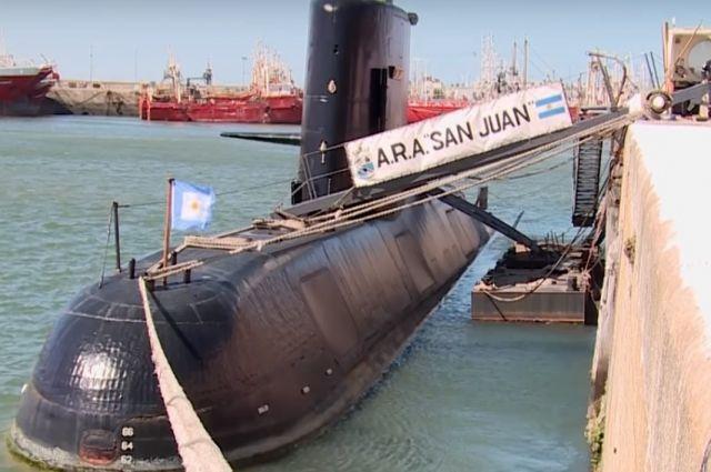 ВАргентине пропала подлодка с44 людьми— впоисках помогают США