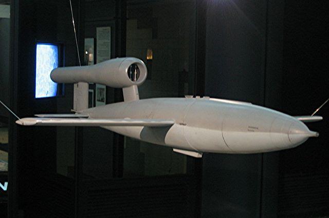 Самолет-снаряд Фау-1 является прототипом современных крылатых ракет.