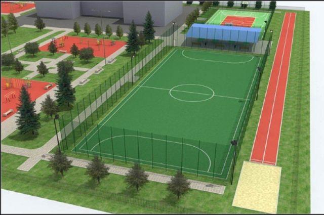 ВМегионе возобновили строительство спортивного комплекса
