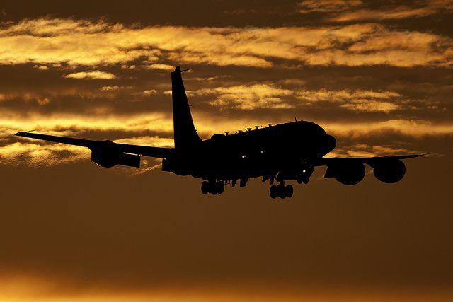 Американский разведывательный самолет совершил полет у границ РФ