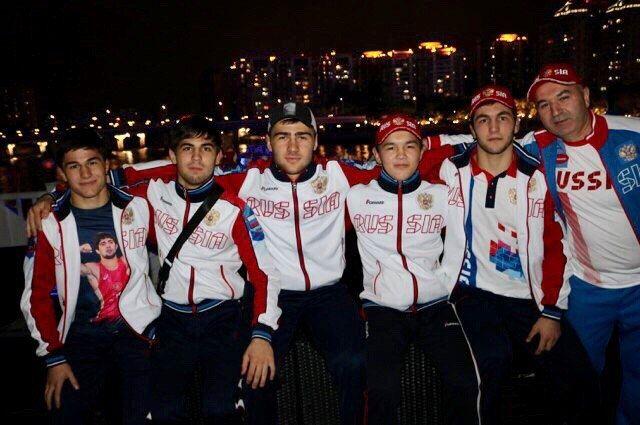Александр Балтуев выступал в соревнованиях по вольной борьбе.