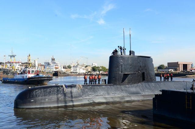 Подводные дроны США подключились кпоискам аргентинской субмарины