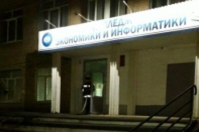 ВОренбурге устранили пожар вКолледже статистики, экономики иинформатики