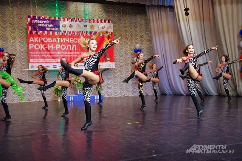 В Сибири и Новосибирске тоже немало талантливых участников.