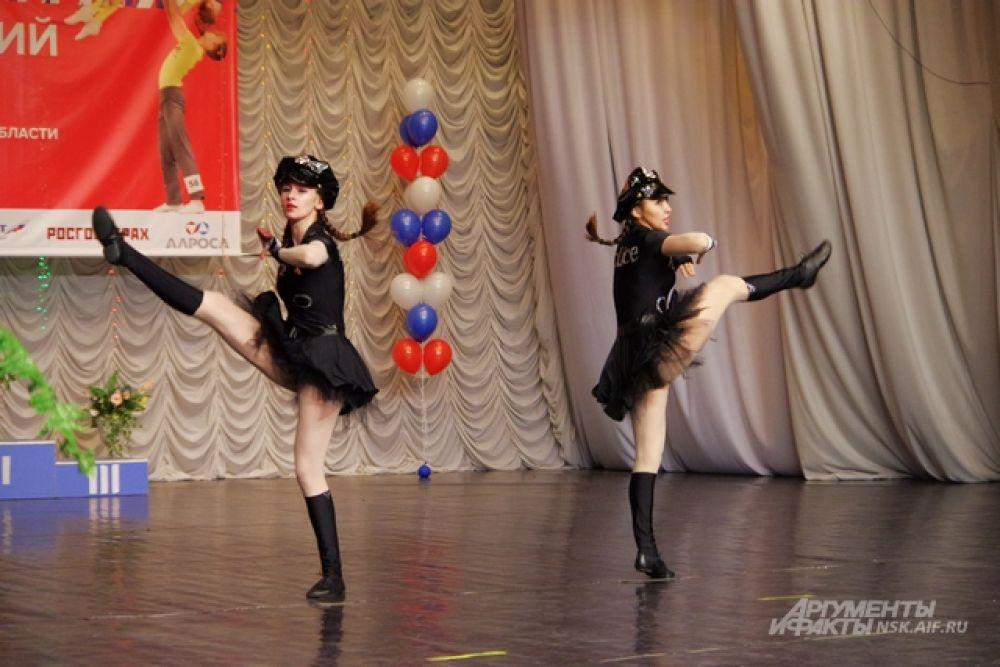 Акробатические элементы - не просто украшение танца.