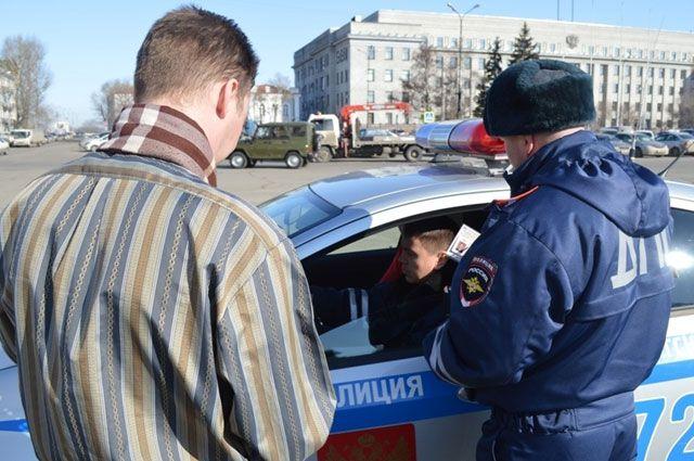 Полицейские и судебные приставы проводят рейды «Злостный неплательщик.