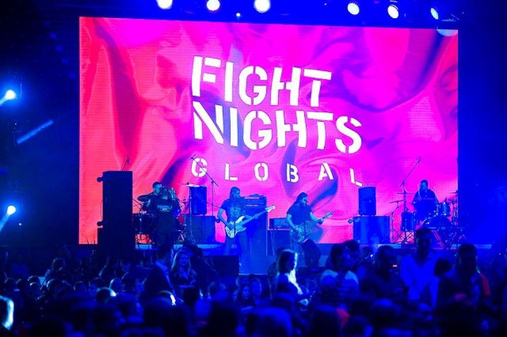 «Fight Nights Global 79». Начало.