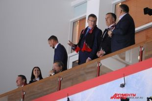 Буркова интересует развитие хоккея в Омской области.
