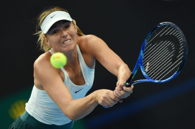 Шарапова опустилась на 61-ю строчку в рейтинге WTA