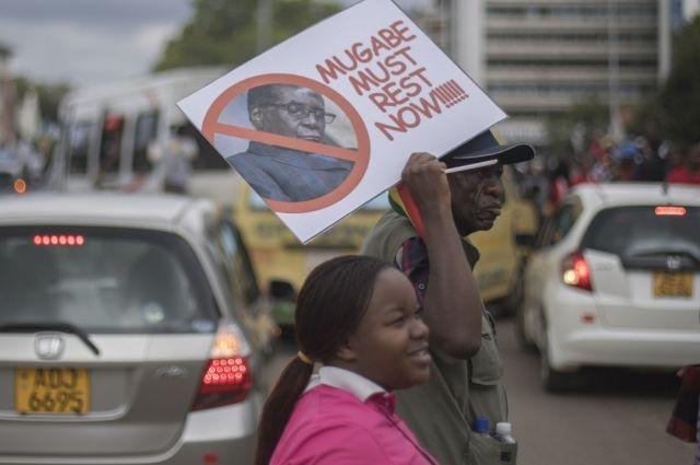 Зимбабве.