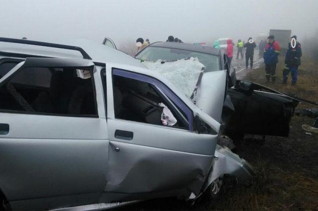 ВУльяновской области вовремя ДТП погибли оба водителя