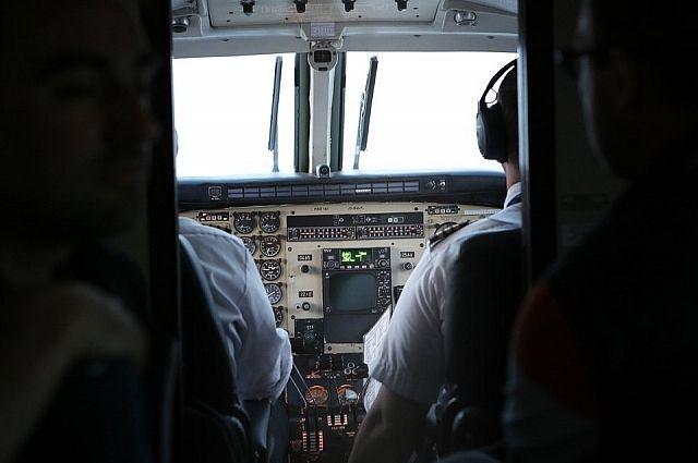 В США потерпел крушение учебный самолет