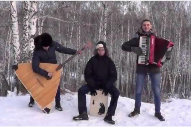 Испанский хит сыграли на русских народных инструментах.