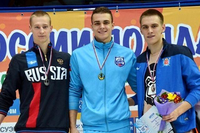 Александр Садовников (в центре) выиграл «золото».
