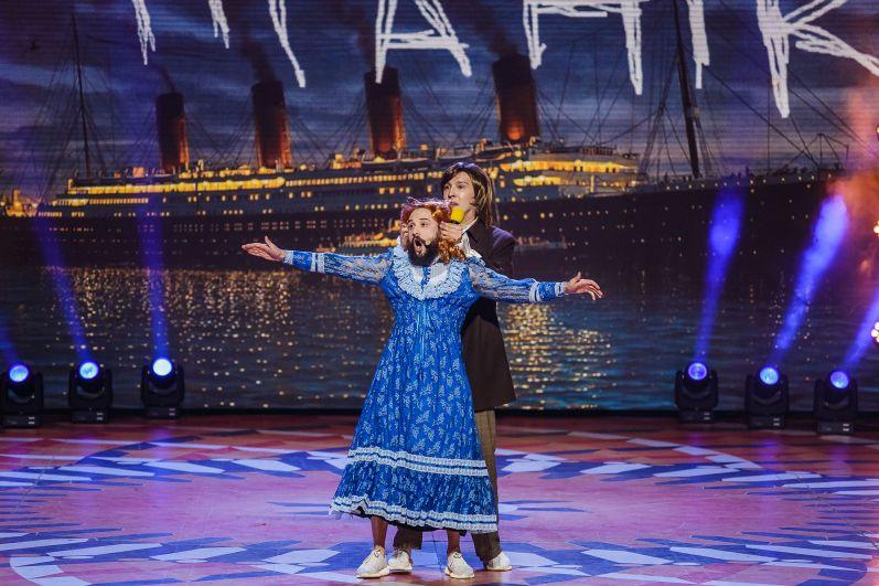 Львовяне «Загорецькая Л.С.» повторили на сцене мировой шедевр «Титаник».