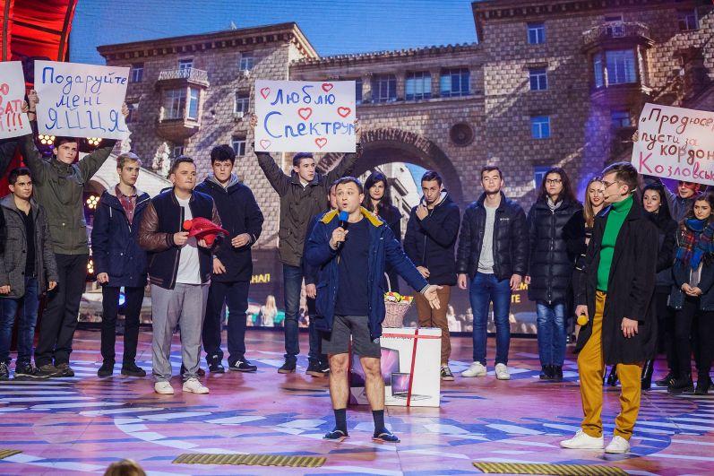 Молдавской команде «Стояновка» «достался» «Оскар». И ребята в своем полотне решили показать, как на их родине снимают кино: «Стояновка, до сих пор XX век FOX, при бездействии Министерства культуры Молдовы…»