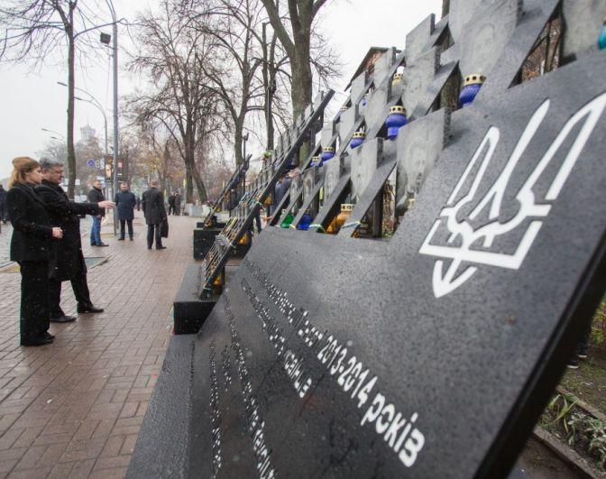В этот праздник в Украине чтят память героев Небесной сотни и воинов АТО.