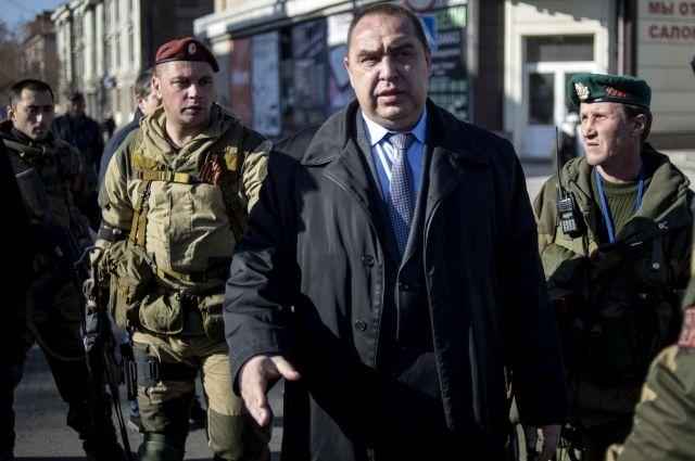 Глава незаконной ЛНР Плотницкий заявил о перевороте в Луганске