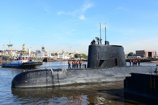 ВМС Аргентины сообщили, что в пропавшей подлодке кончается воздух