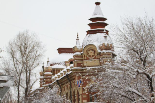 Снежную погоду прогнозируют в Иркутске.