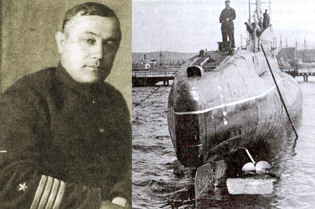 Командир подводной лодки Щ-423 («Щуки») Измаил Зайдулин.