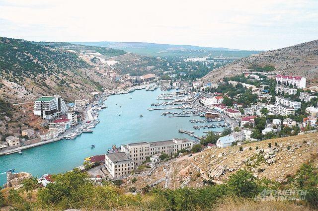 Одно из самых укромных мест на Чёрном море - Балаклавская бухта.