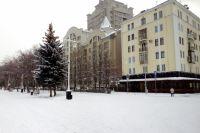 В некоторых районах Кузбасса выпала треть декадной нормы снега.