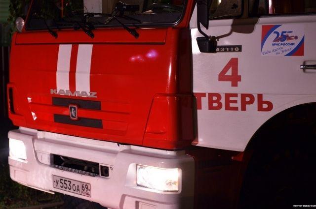 Ночной пожар вТверской области унёс две жизни