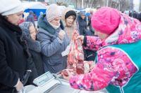 Купить свежее мясо тюменцы могут на ярмарке