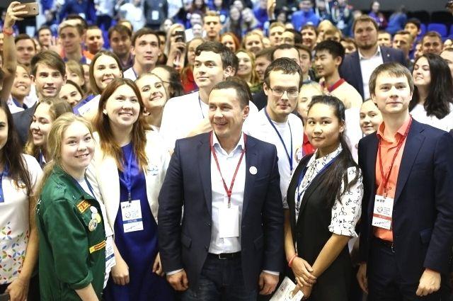 Иркутская молодёжь собралась на свой первый форум.