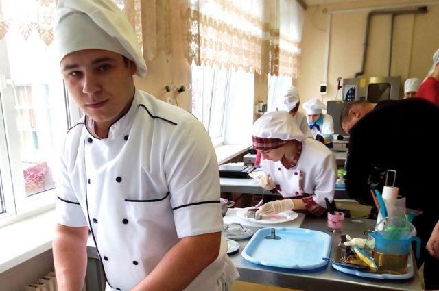Максим Калуцкий мечтает стать шеф-поваром тамбовского ресторана