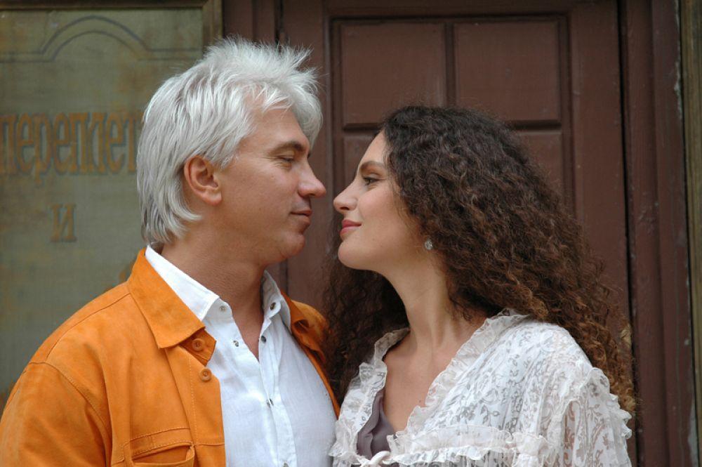 Дмитрий Хворостовский с супругой Флоренс. 2008 год.
