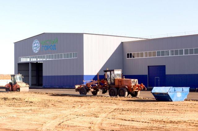 Подходит к завершению строительство мусоросортировочного комплекса в Волжском.
