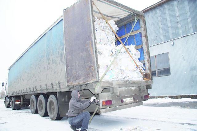 В Омской области формируется отрасль по переработке твёрдых отходов.