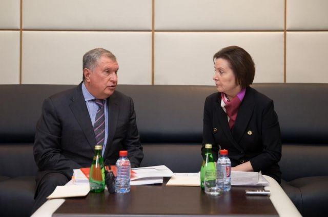 «НаЭргинском кластере будет работать до 5-ти тыс. специалистов»— Игорь Сечин