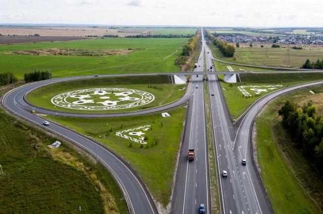 Рабочие уже построили более 48 километров кольцевой дороги