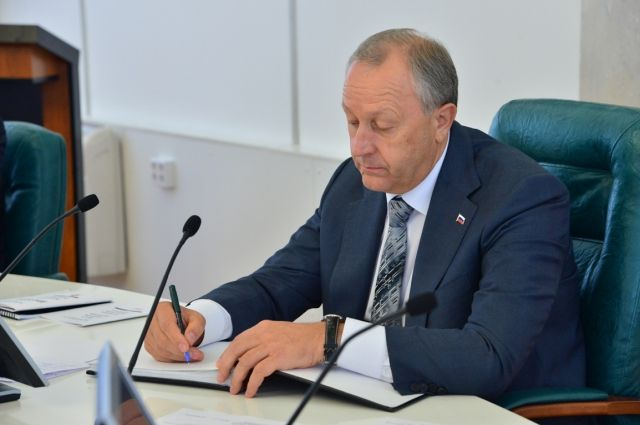 Валерий Радаев обсудил сзампредом руководства РФбюджет региона